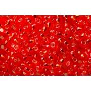 Бисер TOHO 10/0 круглый 5грамм 0025 оранжево-красный