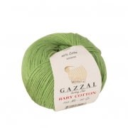 Пряжа Baby Cotton Gazzal 3448 (Турция)