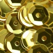Пайетки ZC 6 мм 10 г Ярко-желтый №02