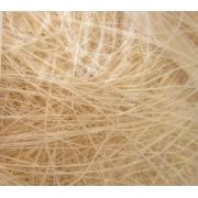 Сизалевое волокно (50гр), отбеленное