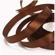 Лента атласная 50 мм 100 (2 метра) темно-коричневый