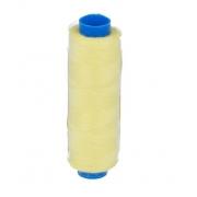 """Швейные нитки (полиэстер) 40/2 """"Gamma"""" 200 я  183 м цвет №384 жёлтый"""