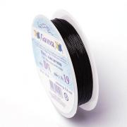 Эластичная нить DN-1 1 мм черная (18 метров)