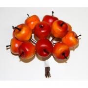 Искусственные фрукты: яблоки, DKB074, 2 шт.