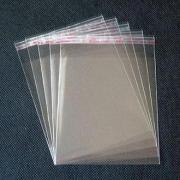 Пакет прозрачный с клеевым клапаном 8х24см (50шт.)