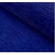 Гофрированная бумага №555 0.5х2.5м Темно-синяя (Италия)