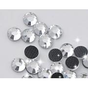 Термоклеевые стразы Zlatka RS SS30 Crystal 6.5 мм белый (144 шт.)
