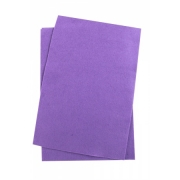 Фетр Китай мягкий  20х30 см 1мм фиолетовый №133 (2 листа)