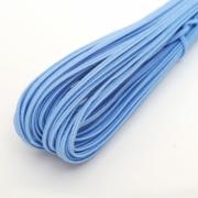 Сутаж 2.5 мм голубой (5 м)