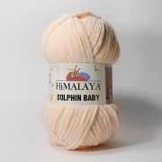 Пряжа плюшевая Himalaya dolphin baby (100г.) 80333
