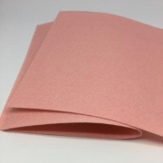 Фетр 20х30 см 1 мм жесткий тусклый розовый
