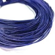 Канитель жесткая 1мм Navy blue 0233 (1метр)