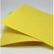 Фетр Корея жесткий 33х53 см 1.2 мм светло-желтый