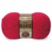 Пряжа Nako Pure wool (100г.) 6814