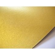 Бумага Majestic А4 250г/м2 Настоящее золото (2листа)