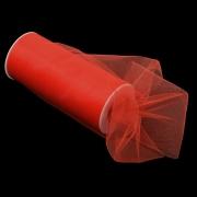 Фатин ширина 15см (2метра) красный
