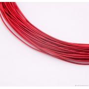 Канитель мягкая 1мм Red Matte (5грамм) 069
