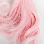 Волосы - тресс для кукол «Завитки» длина волос: 15 см, ширина: 100 см, №LSA009