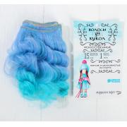 Волосы - тресс для кукол «Кудри» длина волос: 15 см, ширина: 100 см, №LSA025
