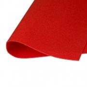 Фетр Корея жесткий 33х53 см 1.2 мм красный