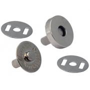 Кнопки магнитные 14 мм (1шт.) под серебро
