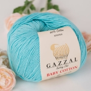 Пряжа Baby Cotton Gazzal 3451 (Турция)