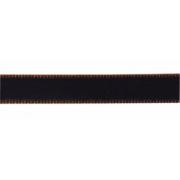 Лента бархатная 12 мм темно-коричневый 100 (1 м)