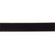 Лента бархатная VR-12 12 мм темно-коричневый 100 (1 м)