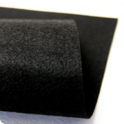 Фетр Китай мягкий 30х45см 2мм 033 черный