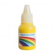 Краситель жидкий немигрирующий Creative-color 15мл Желтый