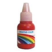 Краситель жидкий немигрирующий Creative-color 15мл Красный