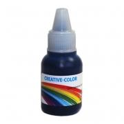 Краситель жидкий немигрирующий Creative-color 15мл синий прозрачный