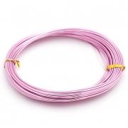 Проволока для плетения 1 мм светло-розовый SF-904,10 метров