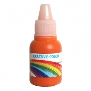 Краситель жидкий немигрирующий Creative-color 15мл Тыквенный