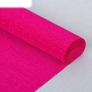 Гофрированная бумага №552 0.5х2.5м цикламен