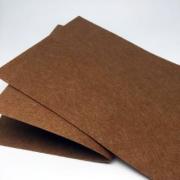 Фетр 20х30 см 1 мм жесткий коричневый