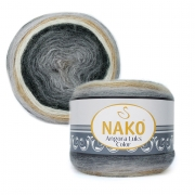Пряжа Nako Angora luks color (150г.) 81914