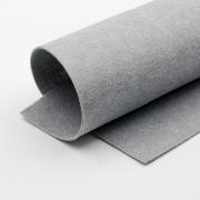 Фетр Корея FKS12-33/53 жесткий 33х53 см 1.2мм серый 897