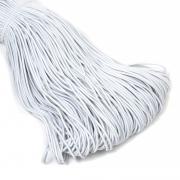 Шнур эластичный 2мм EC-20 белый (3метра)