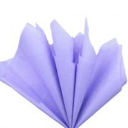 Тишью бумага 50х66см сиреневая (10 листов)