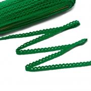 Кружево 12.01.086 12 мм зеленый (1м)