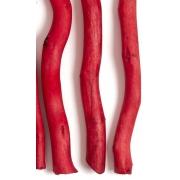 Ствол для топиариев (корилус) 30 см красный (1шт.)