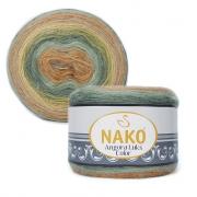 Пряжа Nako Angora luks color (150г.) 81912