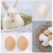 """Салфетка """"Пасхальные яйца""""-4 (2шт.)"""