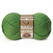 Пряжа Nako Pure wool (100г.) 5300