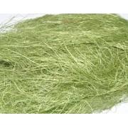 Сизалевое волокно (100гр), светло-зеленое