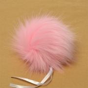 Помпон иск.мех 15см PIP23 нежно-розовый