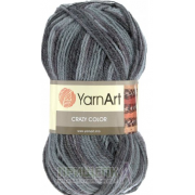 Пряжа YarnArt Crazy Color 652 (Турция)