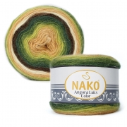 Пряжа Nako Angora luks color (150г.) 81905