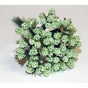 Декоративный букетик зеленый 026С (12шт.)
